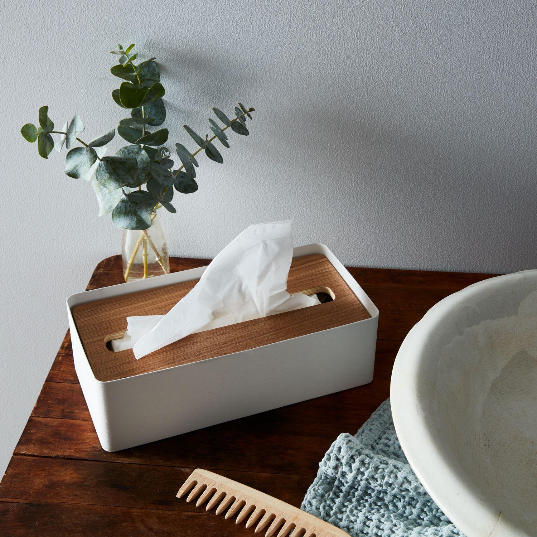 Wood Steel Tissue Box On Food52