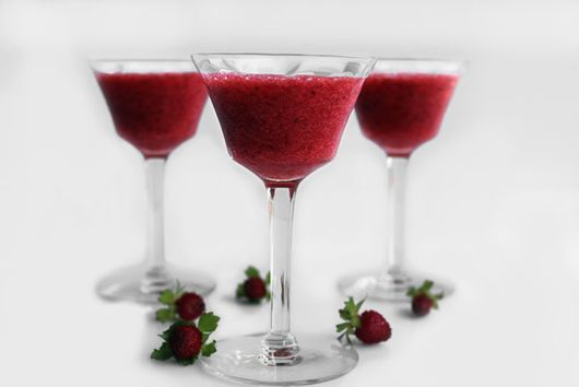 Strawberry Champagne Mousse