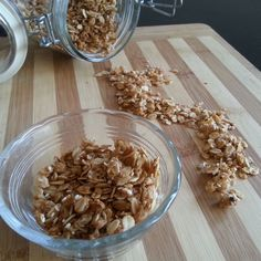 Orange Blossom, Coconut and Sesame Granola