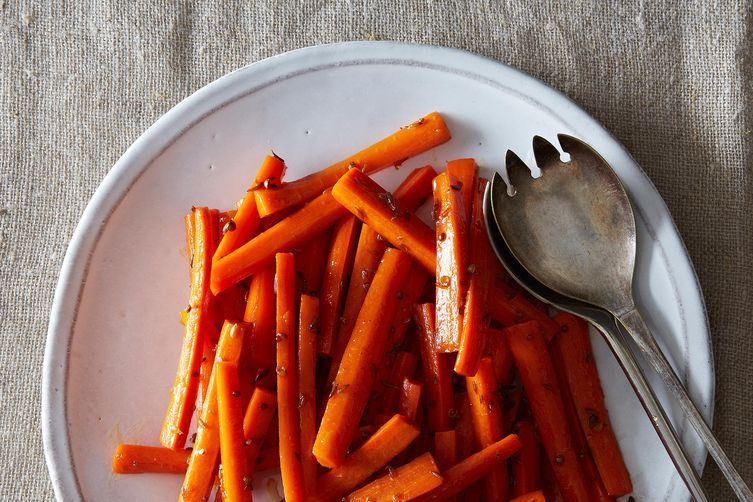 Buttery Maple and Cumin Carrots Recipe on Food52