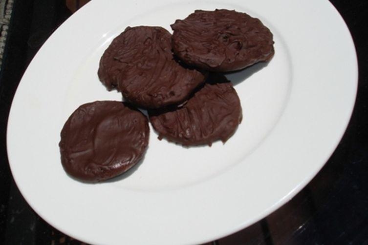 Gluten-Free Chocolate Mint Cookies