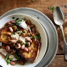 Zuppa con Sarde (Borlotti and Sardine Soup)