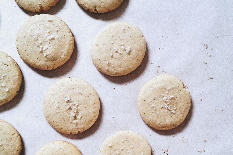 Salted Vanilla Bean Cookies