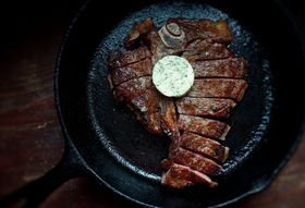 A Steakhouse Dinner at Home