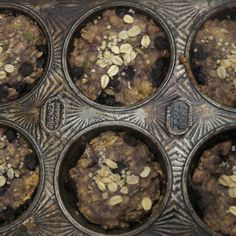 """Beat the Breakfast Blues"" Blissful Blueberry Vanilla Muffins"