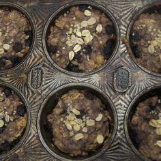 """Beat the Breakfast Blues"" Blissful Blueberry Vanilla Muffins"