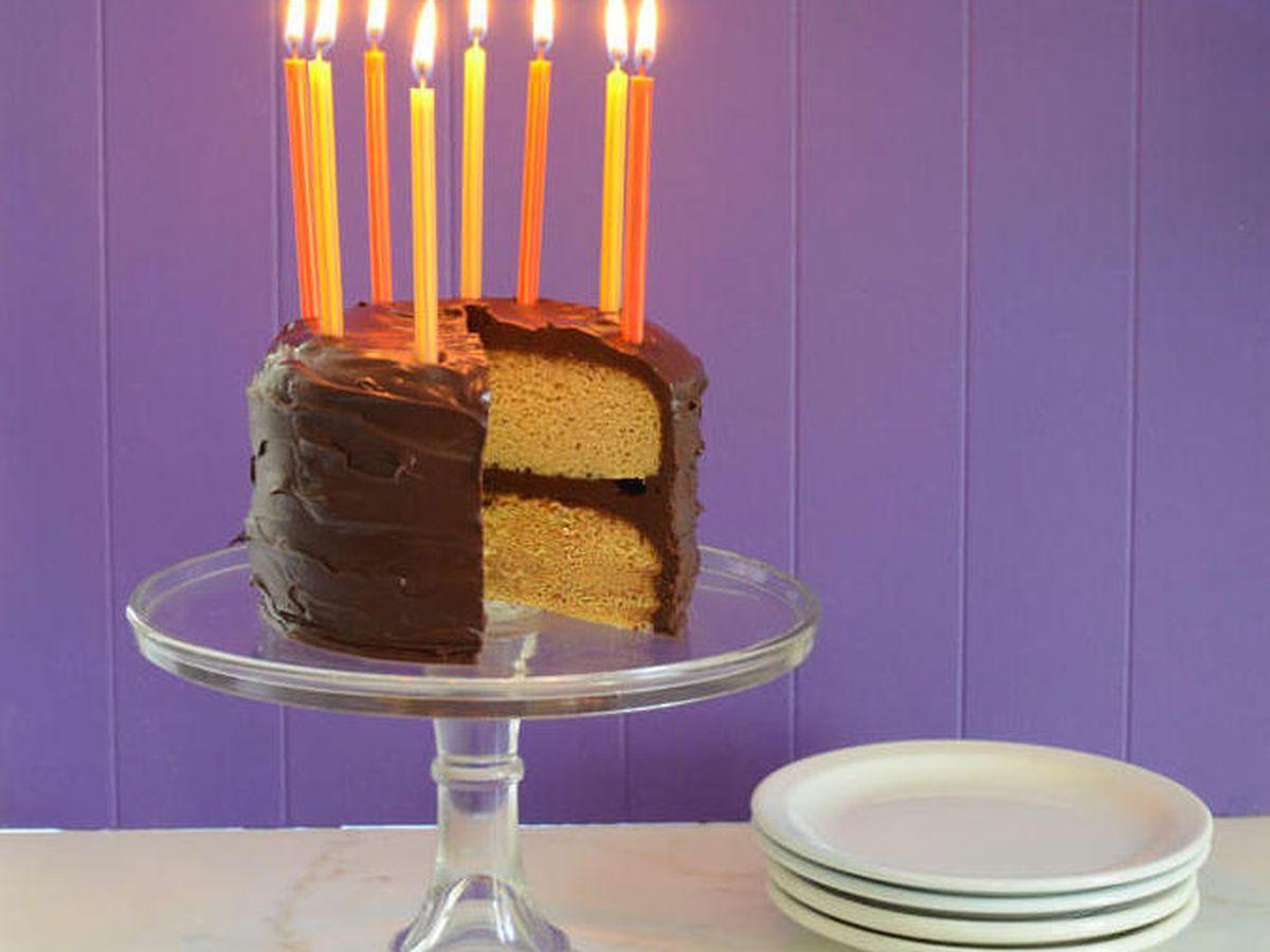 Incredible Paleo Vanilla Birthday Cake Recipe On Food52 Birthday Cards Printable Inklcafe Filternl