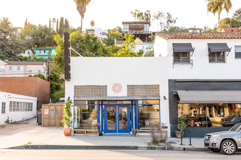 Botanica's cheerful home in Silver Lake.