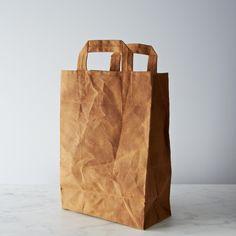Waxed Canvas Market Bag