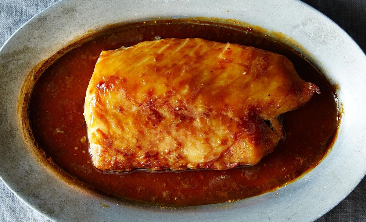 Baked cod with miso for Bake cod fish