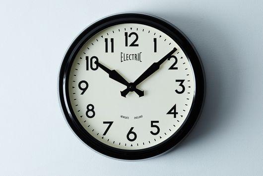 50's Electric Wall Clock