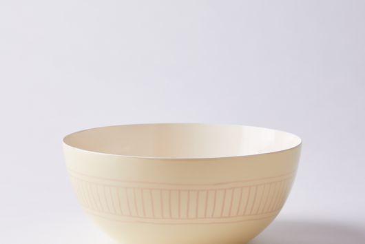 Hand-Painted Enamel Agnes Bowl