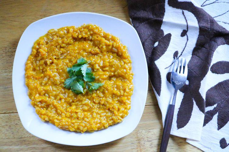 Whole Grain Pumpkin Risotto