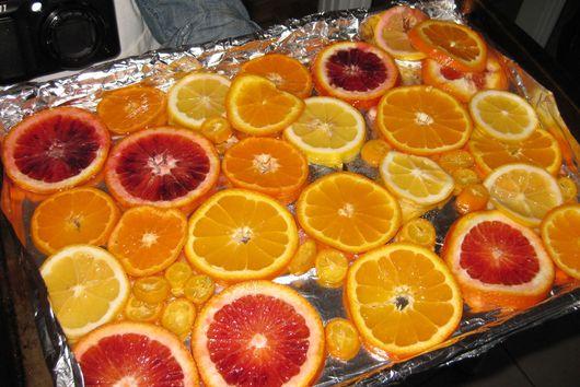 Chocolate Caramelized Orange Tart