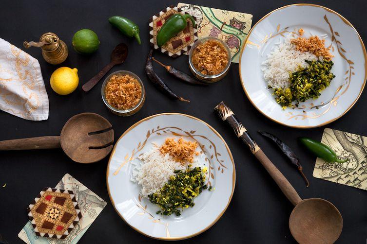 Sri lankan kale mallung recipe on food52 for Authentic sri lankan cuisine