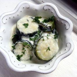 Milk-Braised Zucchini