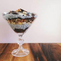 Almond Joy Chia Seed Pudding
