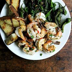 The Fastest Way to a Shrimp Dinner (+ a Perky Green Sauce to Brighten It)