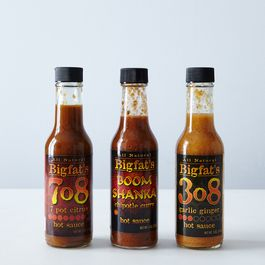 Bigfat's Hot Sauces (3-Pack)