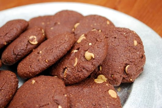 Chocolate Almond Cookies