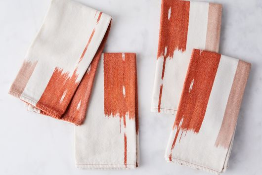 Handwoven Ikat Napkins (Set of 4)