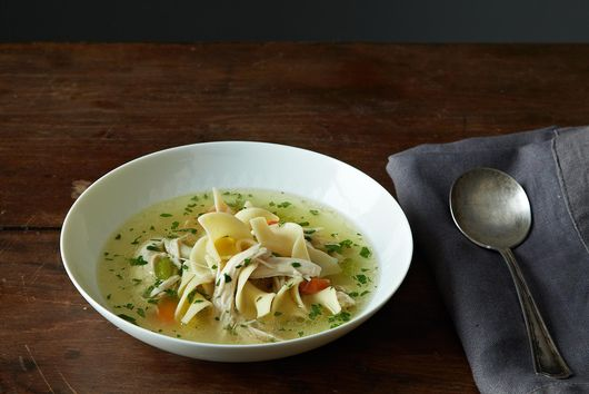 How to Make Chicken Noodle Soup Without a Recipe