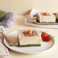 Raw Mini Lemon Cheesecakes