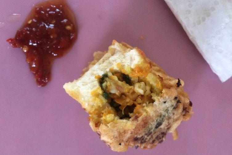 Indonesian Veggie Tofu Puffs