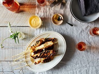 Celebrate the Last Days of Summer with Dinner on a Stick