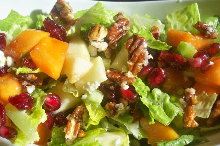 APPLE – PERSIMMON SALAD