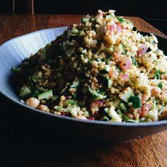 Millet Salad w/ Turmeric Vinaigrette