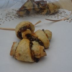 Chocolate Hazelnut Rugelach