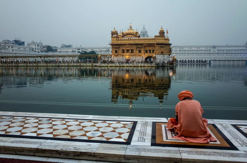 The Golden Temple is Amritsar's most famous attraction.