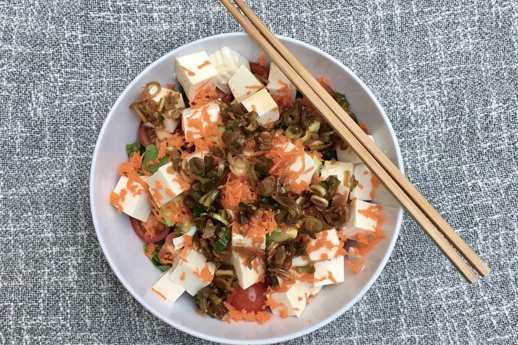 Grandma's 20-Minute Hawaiian Tofu Salad