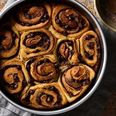Five-Spice Chocolate Sweet Rolls