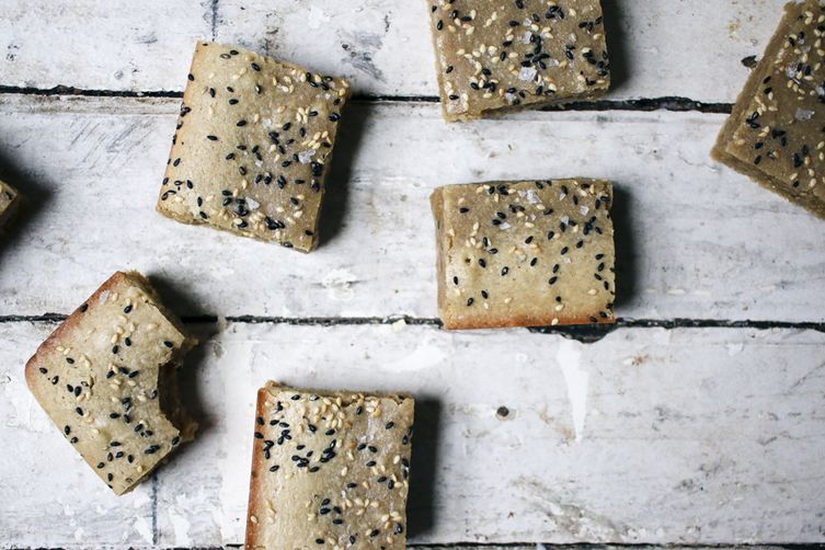 Tahini Blondies