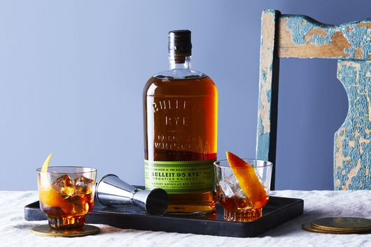 Maple-Rye Old Fashioned