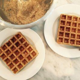 Whipped Whole Wheat Waffles