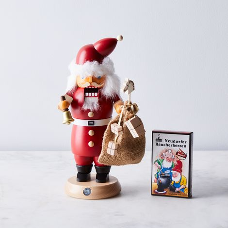 Handcrafted Decorative Nutcracker-Smoker & Incense