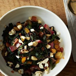 Eat Your Greens! Rainbow Chard with a Maple-Vinegar Drizzle