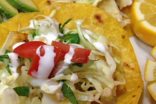 California Halibut Tacos