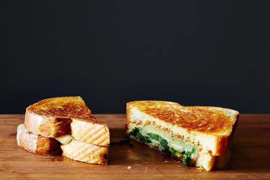 Mustardy Grilled Cheese