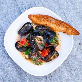 Mussels a la Franciscana