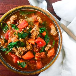 Lentil and Sausage Soup