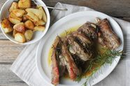 Abbacchio al Forno (Roast Lamb with Potatoes)