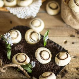 Fun and Easy Mushroom Shortbread Cookies