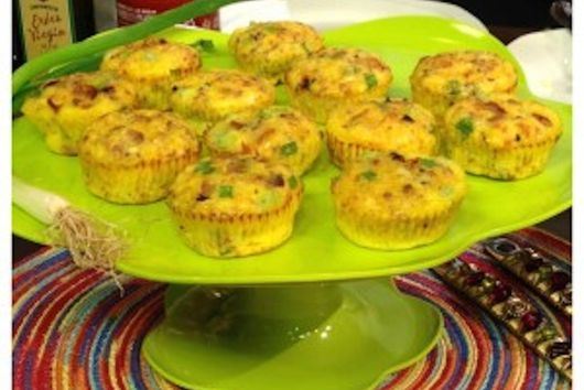Sausage and Scallion Egg Muffins