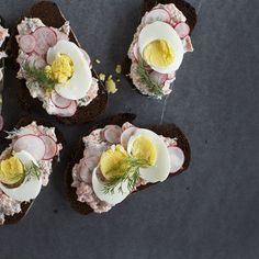Open-Faced Sandwich with Dilly Trout Pate