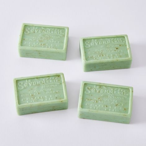 Provençal Exfoliating Scented Bar Soap (Set of 4)