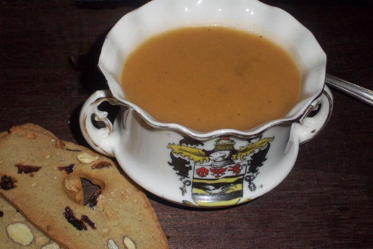 Chayote chamomile soup